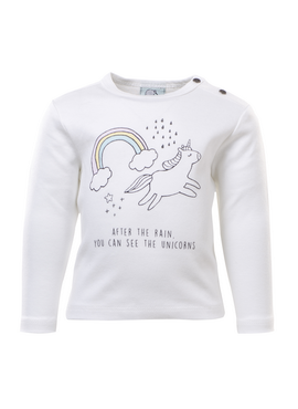 LS BABY UNICORN T-SHIRT