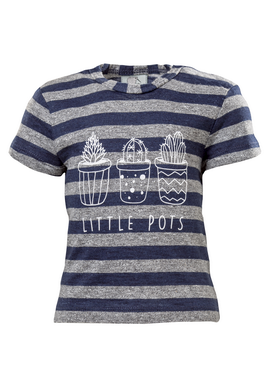 STRIPED SS BABY TSHIRT