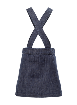 WOVEN DENIM SKIRT DRESS