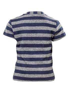 STRIPED SS KIDS TSHIRT